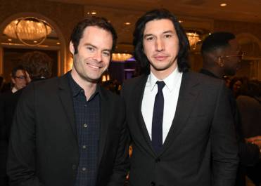 LOS ANGELES, CA - JANUARY 04: Actor-producer Bill Hader (L) and actor Adam Driver attend the 19th Annual AFI Awards at Four Seasons Hotel Los Angeles at Beverly Hills on January 4, 2019 in Los Angeles, California. (Photo by Frazer Harrison/Getty Images for AFI)