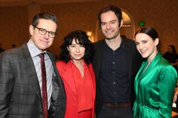 LOS ANGELES, CA - JANUARY 04: (L-R) Writer-producer Daniel Palladino, writer-producer Amy Sherman-Palladino, actor-writer-producer Bill Hader, and actor Rachel Brosnahan attend the 19th Annual AFI Awards at Four Seasons Hotel Los Angeles at Beverly Hills on January 4, 2019 in Los Angeles, California. (Photo by Frazer Harrison/Getty Images for AFI)